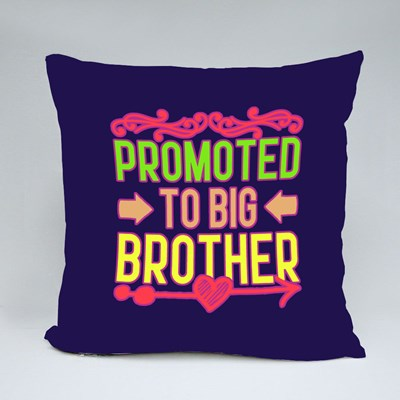 Promoted to Big Brother Throw Pillows
