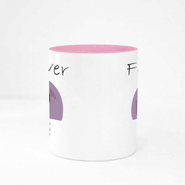 Forever Moon Icon Colour Mugs