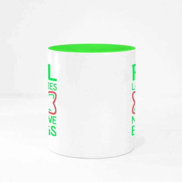 Real Love Stories Colour Mugs