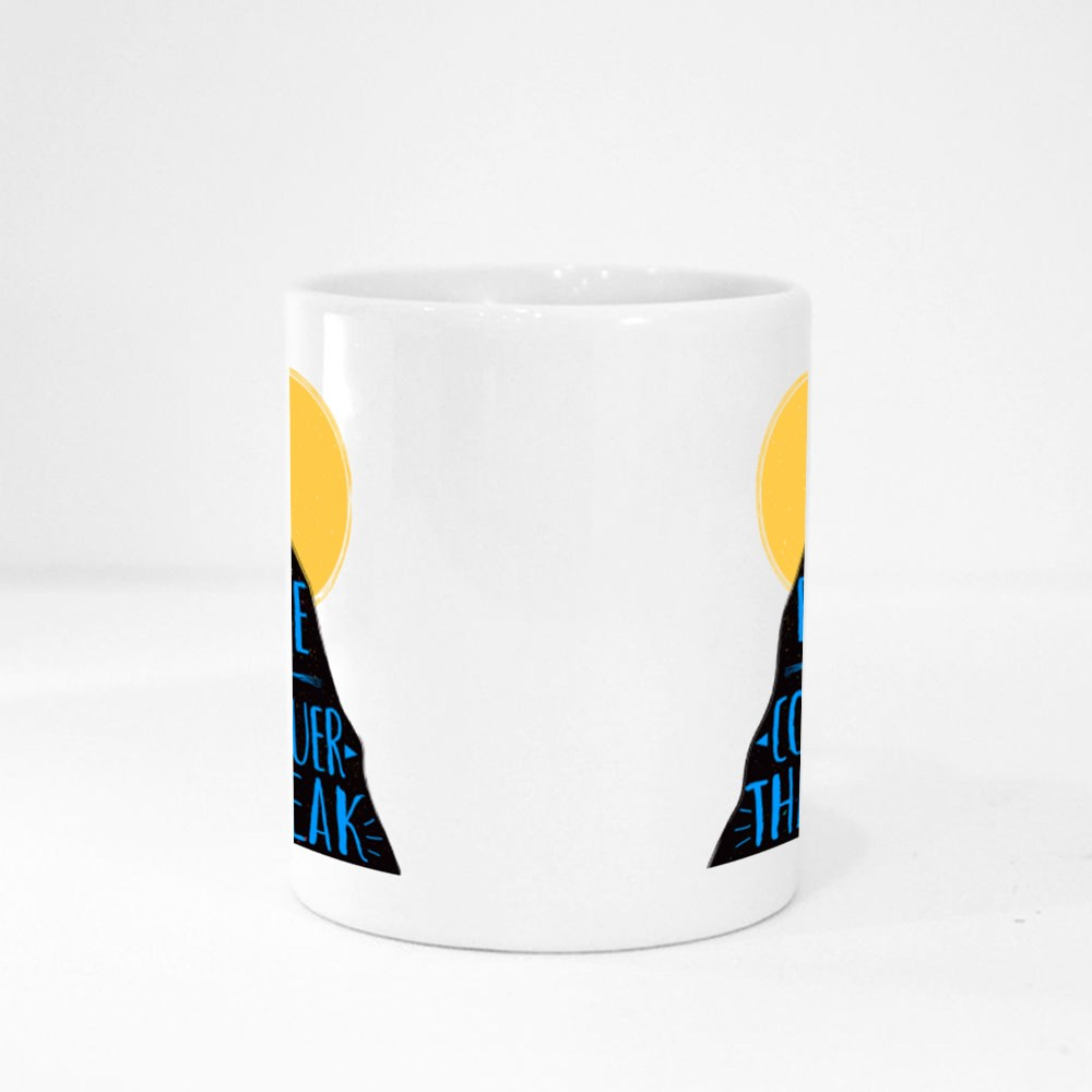 Be Brave and Conquer the Peak Magic Mugs