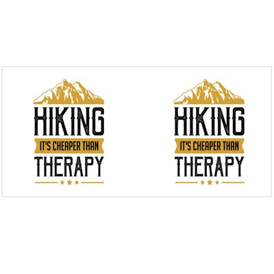 Hiking Is Cheaper Than Therapy Magic Mugs