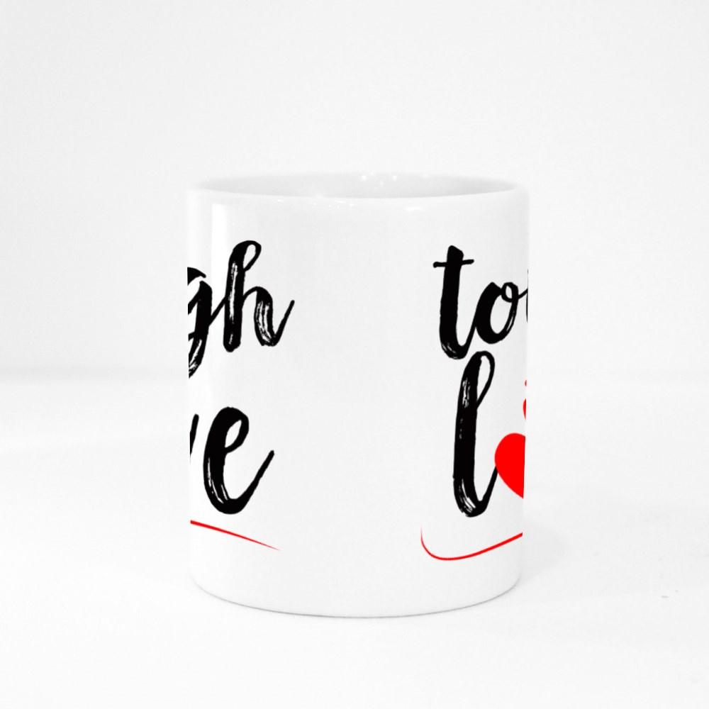 Tough Love Valentine Colour Mugs