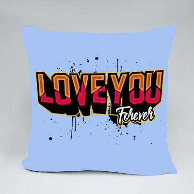 Love You Forever Throw Pillows