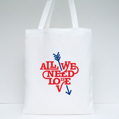All We Need Is Love Tote Bags