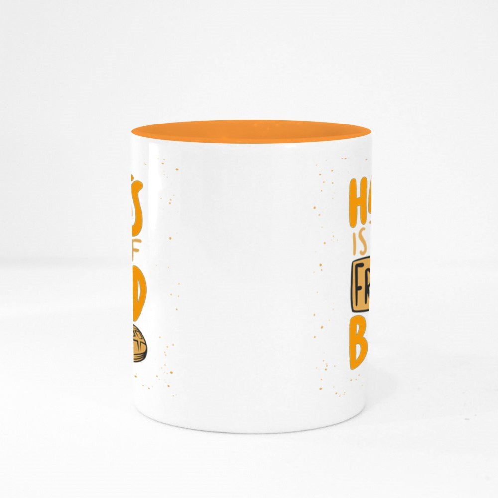 Happiness Is the Smell Colour Mugs