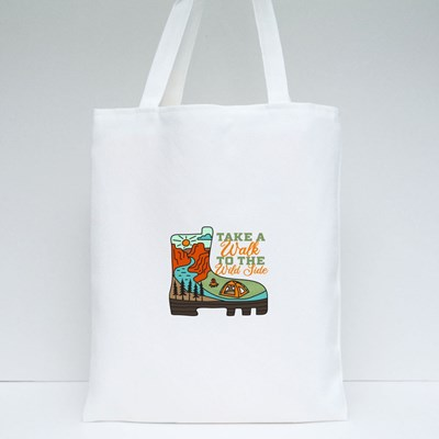 Take a Walk to the Wild Side Tote Bags