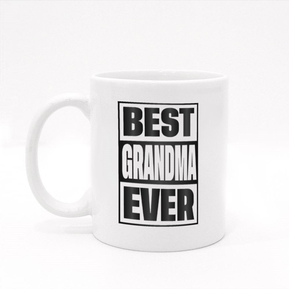 Best Grandma Ever Colour Mugs
