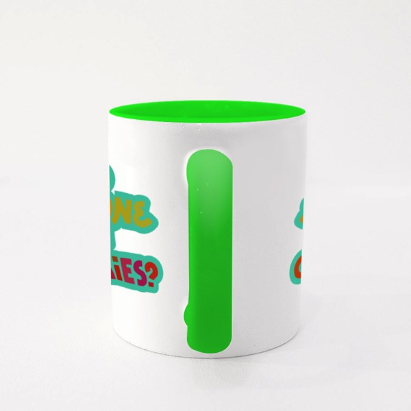 Did Someone Say Cookies? Colour Mugs