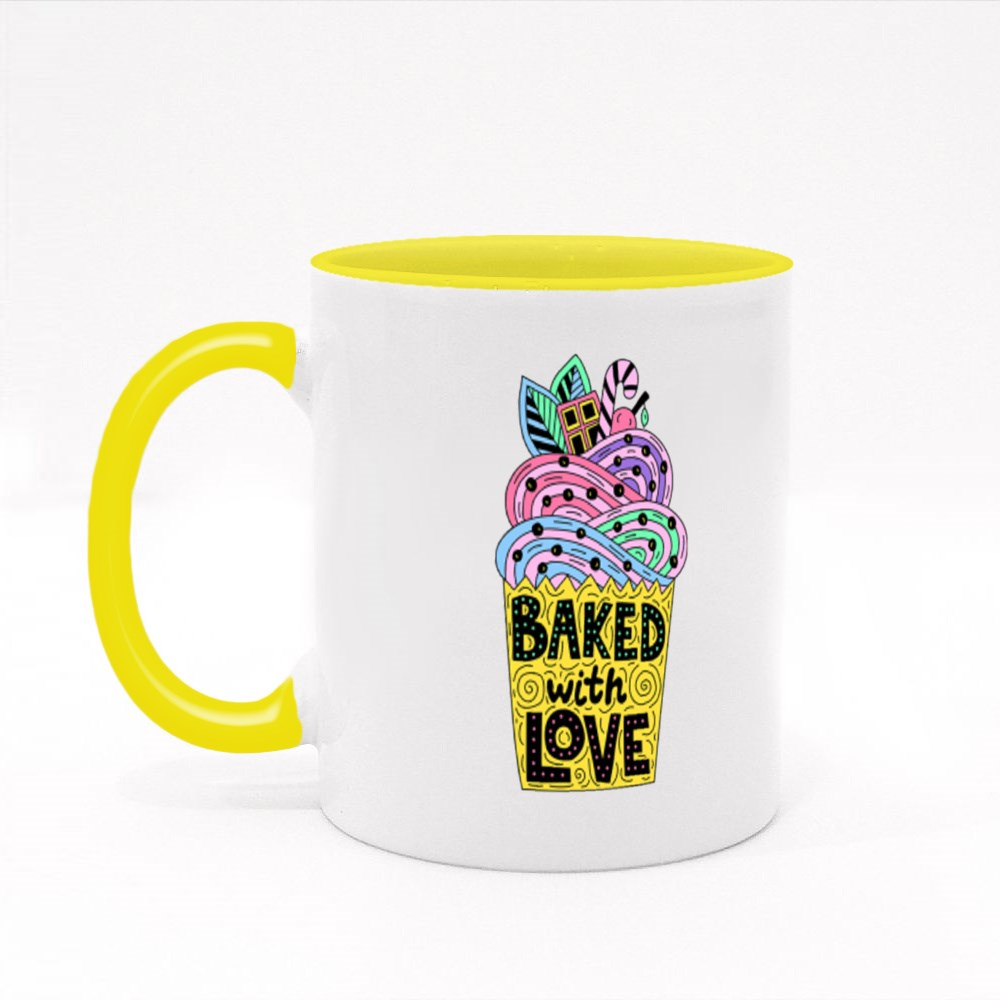 Backed With Love Colour Mugs