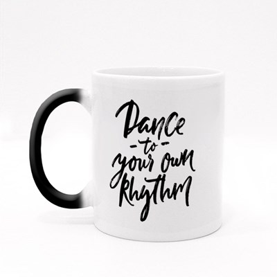 Dance to Your Own Rhythm Magic Mugs