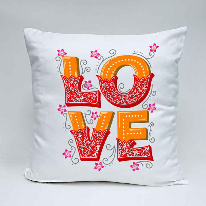 Read Color Love Throw Pillows