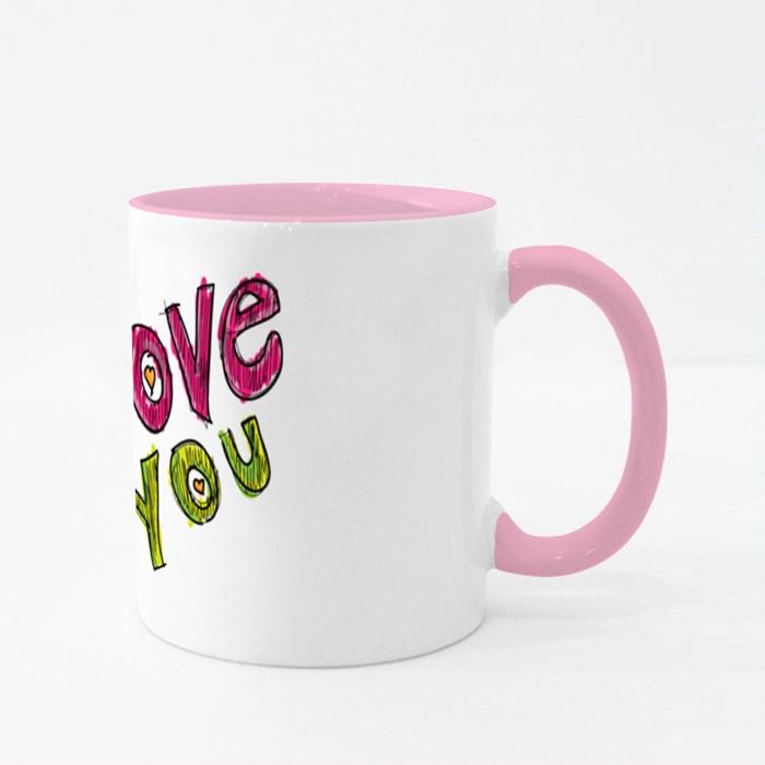 Love Colour Mugs