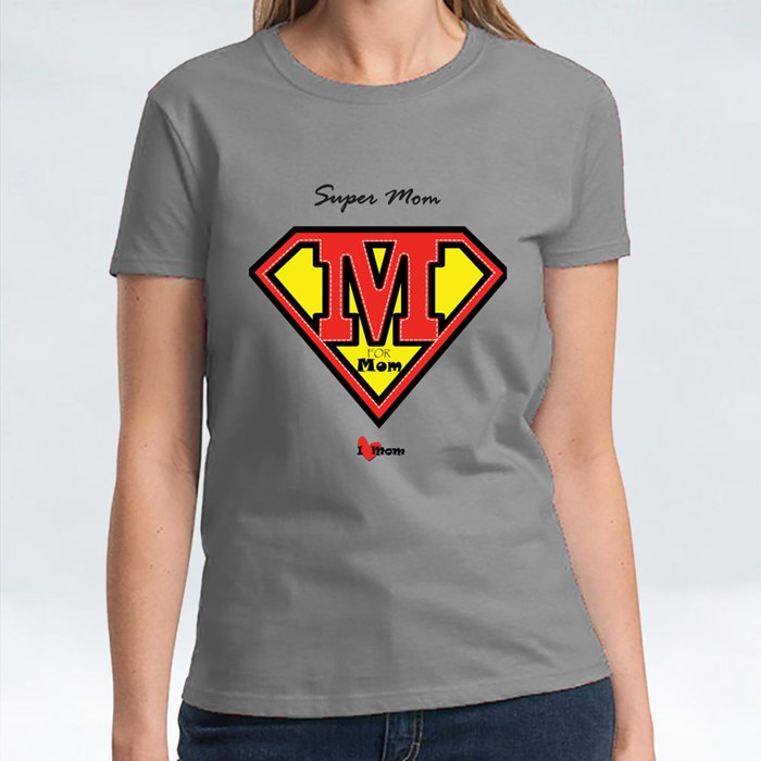 Super Mom and a Shield T-Shirts