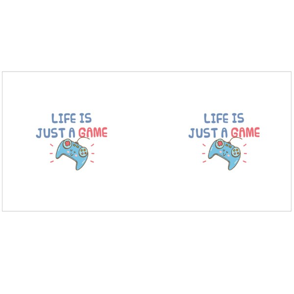 Life Is Just a Game Colour Mugs
