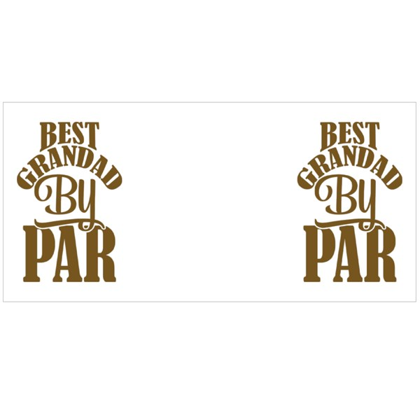 Best Grandad by Par Typography Colour Mugs
