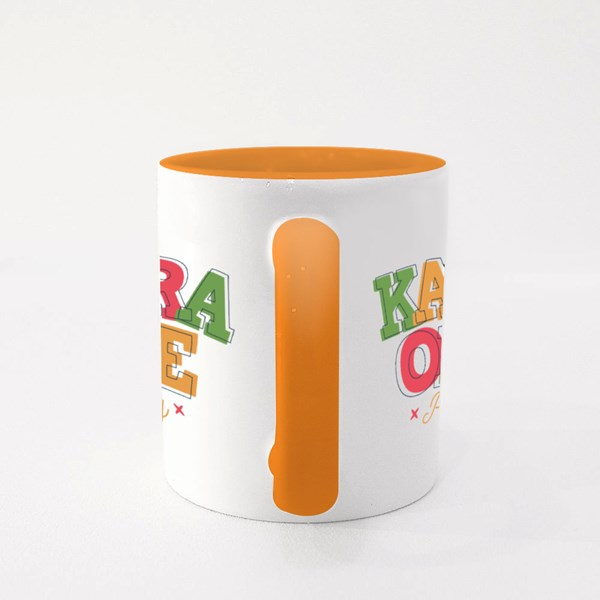Karaoke Party With Microphone Colour Mugs
