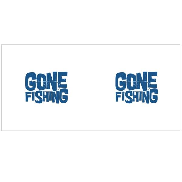 I've Gone Fishing Colour Mugs