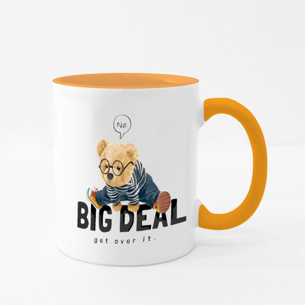 Big Deal Get Over It Colour Mugs