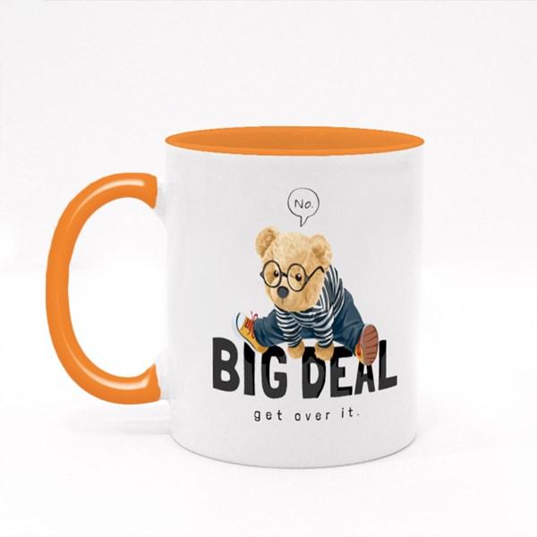 Big Deal Get Over It Colour Mugs