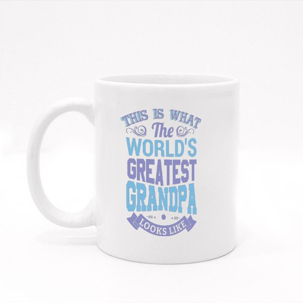 Greatest Grandpa Quotes Colour Mugs