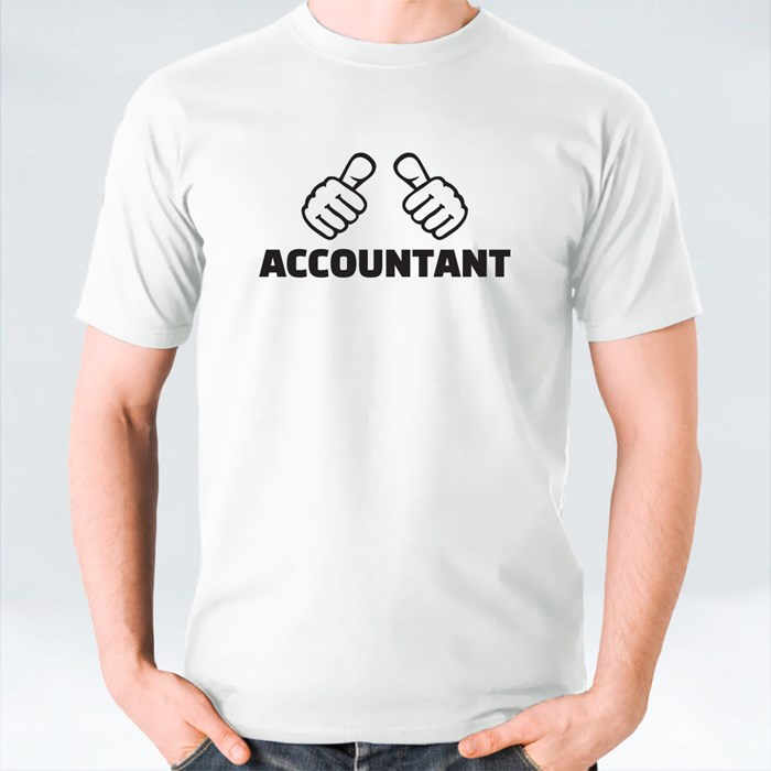 Accountant With Thumbs T-Shirts