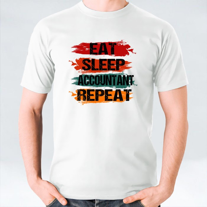 Eat Sleep Accountant Repeat T-Shirts