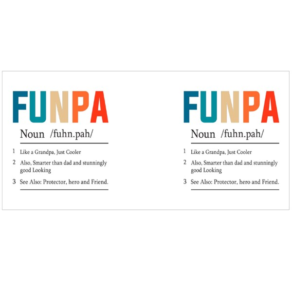 Fun Pa Definition Text Colour Mugs