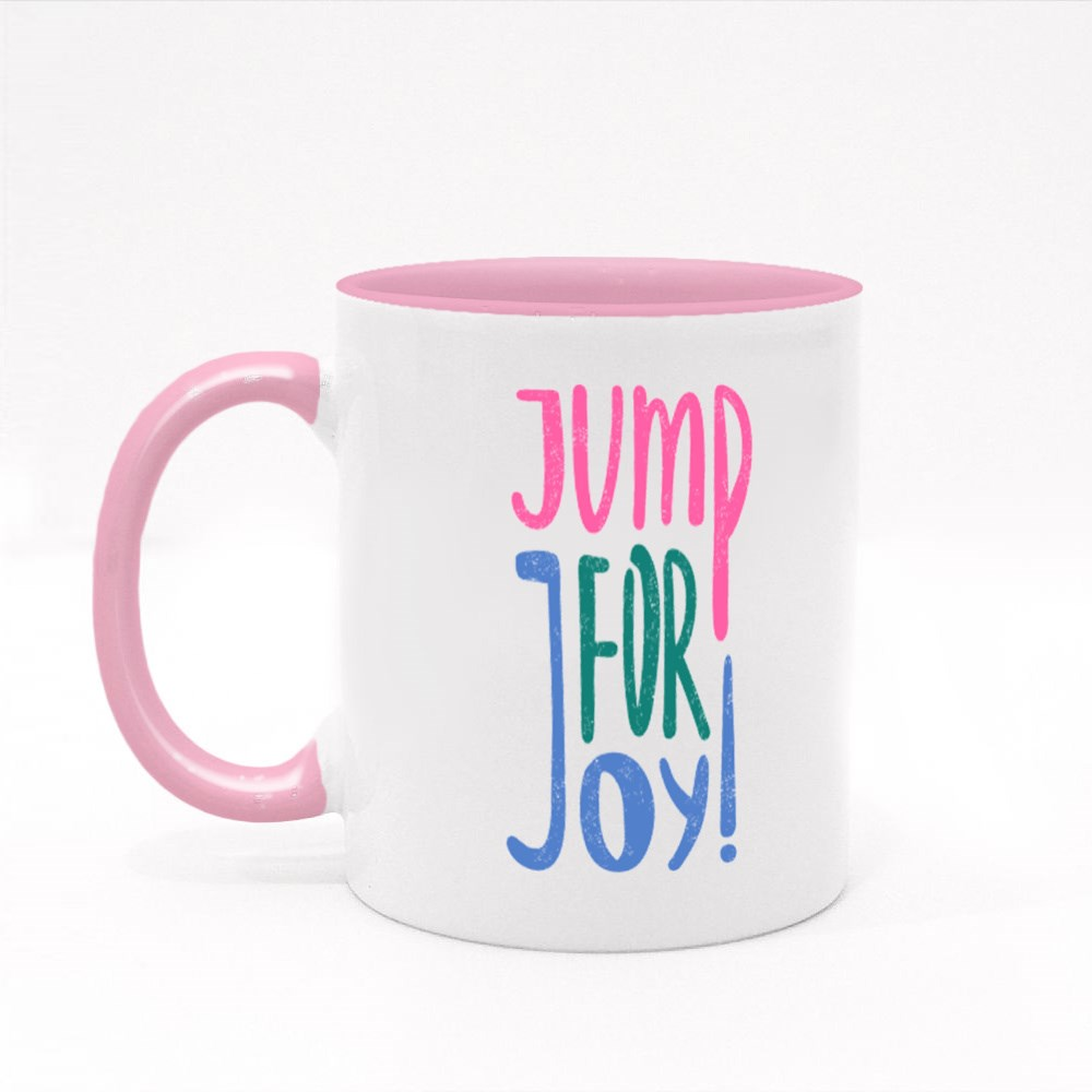 Jump for Joy  ! Colour Mugs