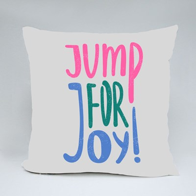 Jump for Joy  ! Throw Pillows