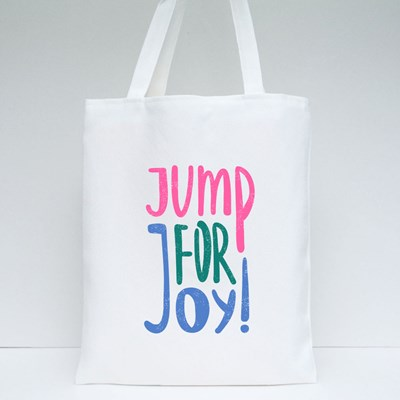 Jump for Joy  ! Tote Bags