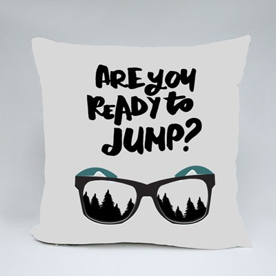 Are You Ready to Jump? Throw Pillows