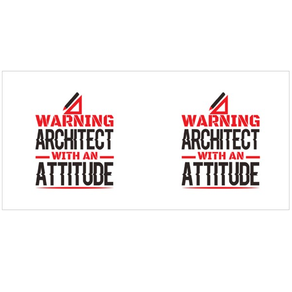 Architect With Attitude Colour Mugs