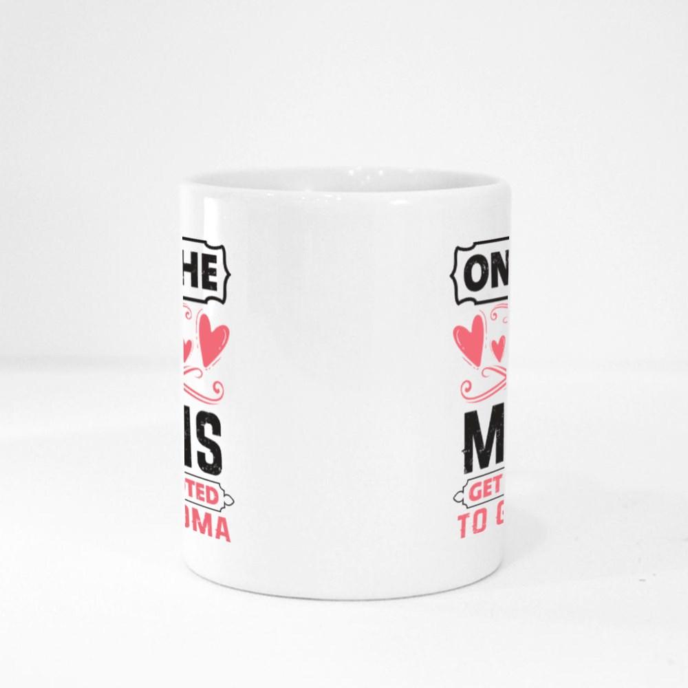 Best Moms Promoted to Grandma Magic Mugs