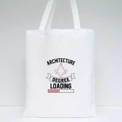 Architecture Degree Loading Tote Bags