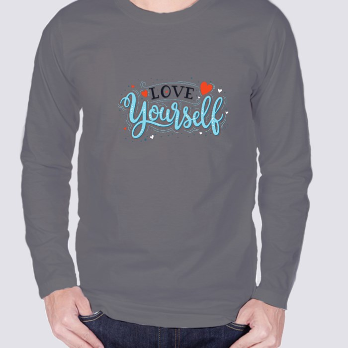 Be Yourself. an Original Is So Much Better Than a Copy. Long Sleeve T-Shirts