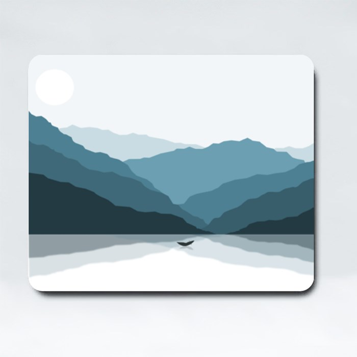 Shadowed Mountains Mousepads (Rectangle)