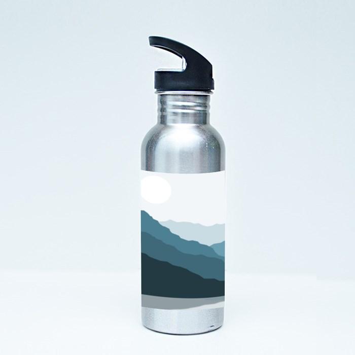 Shadowed Mountains Sport Flasks