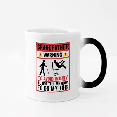 Avoid Injury Warning Magic Mugs