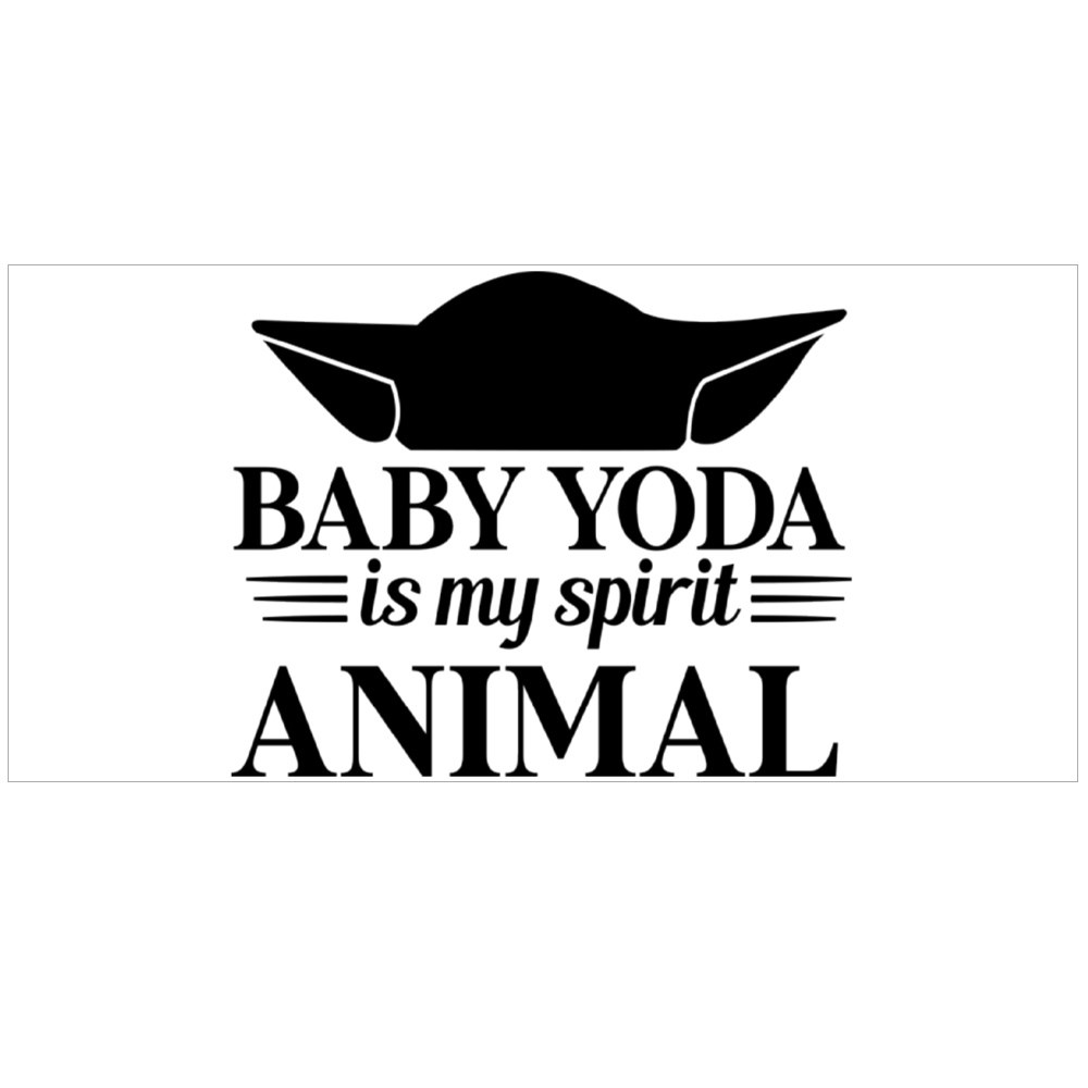 Baby Yoda Is My Spirit Animal Magic Mugs