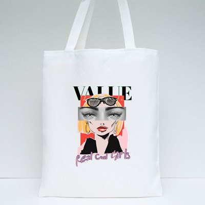 Real Cool Girls Tote Bags