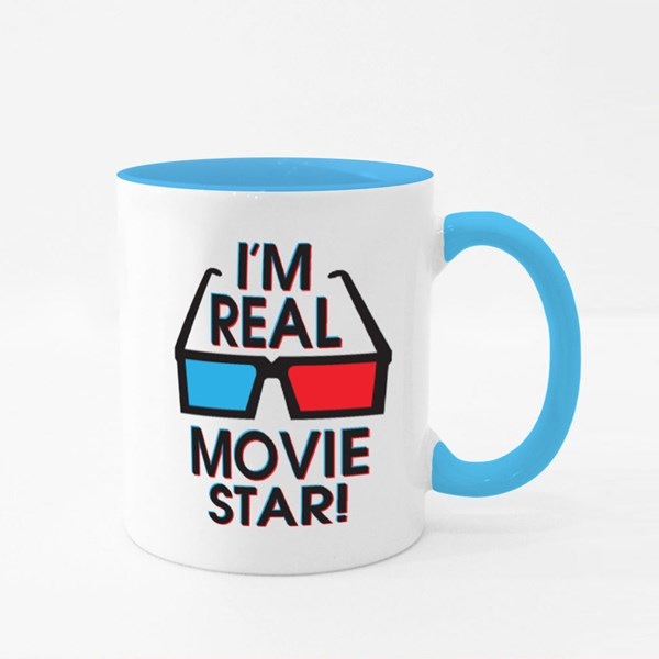 I'm Real Movie Star! Colour Mugs