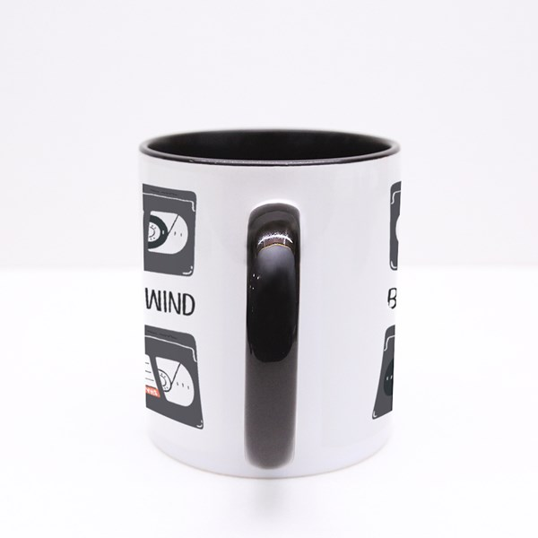 Be Kind, Rewind. Colour Mugs