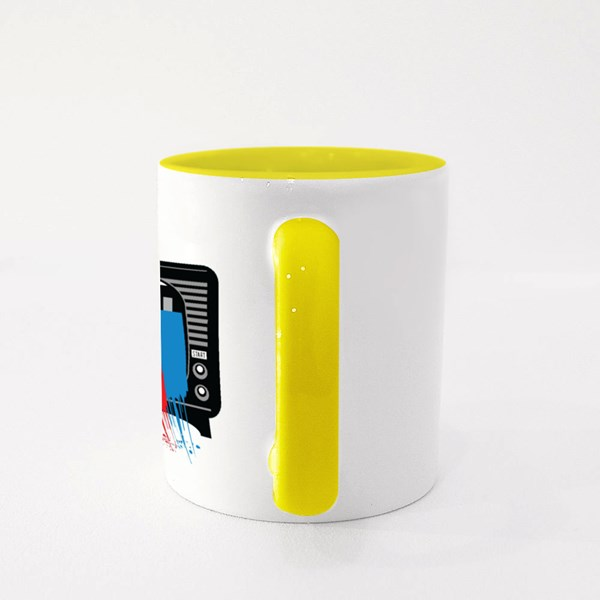 Television Color Colour Mugs