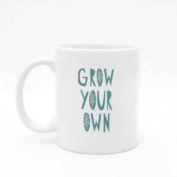 Grow Your Own Gardening Quotes Colour Mugs