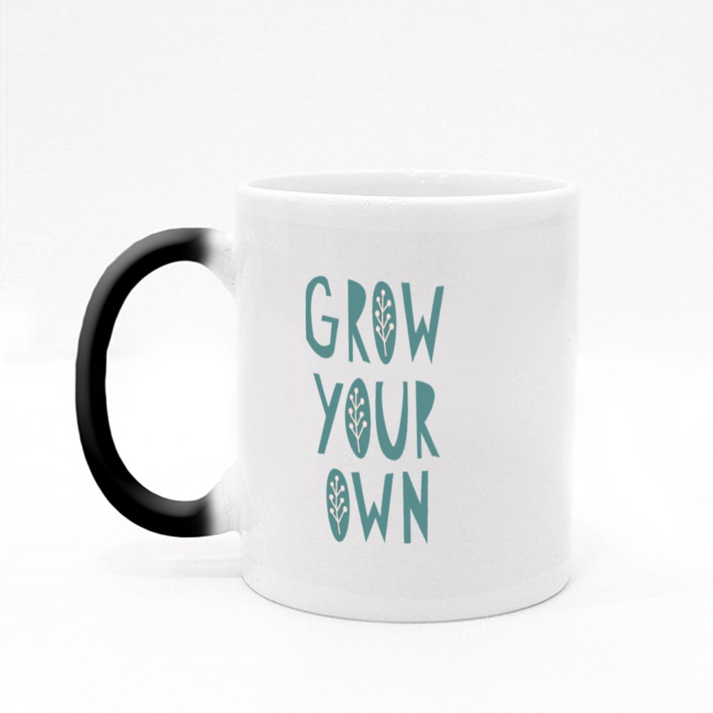Grow Your Own Gardening Quotes Magic Mugs