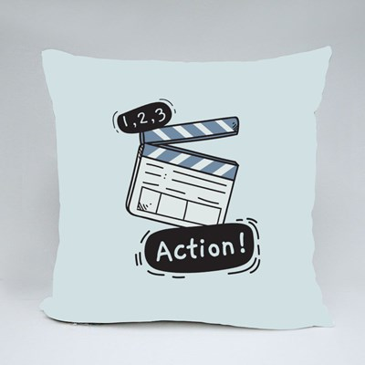 1, 2 ,3 and Action Throw Pillows