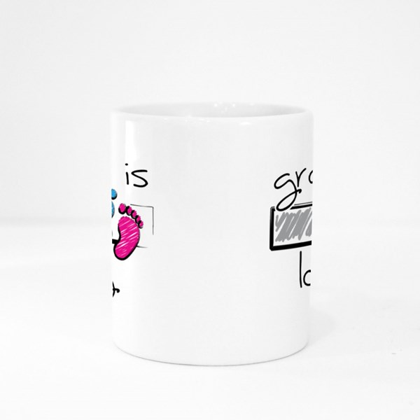 Grandpa Is Loading Slogan Colour Mugs