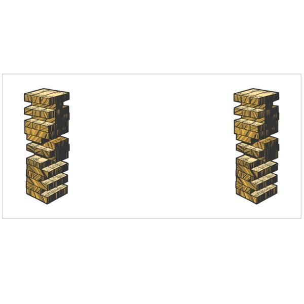 Wooden Block Puzzle Colour Mugs