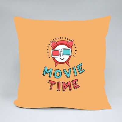 It's Movie Time Throw Pillows