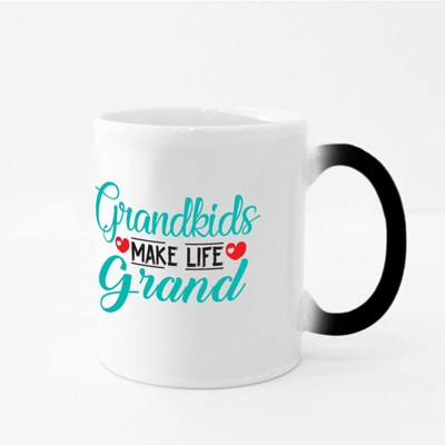 Grandkids Make Life Grand Magic Mugs
